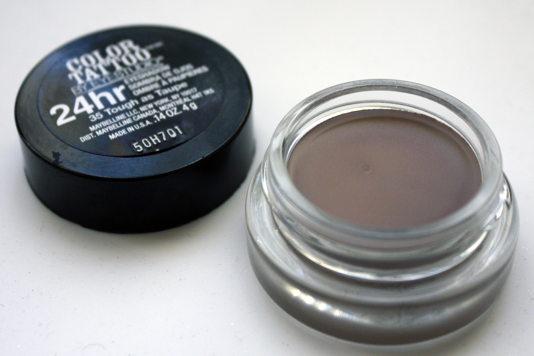 Tough as taupe for Color tattoo maybelline