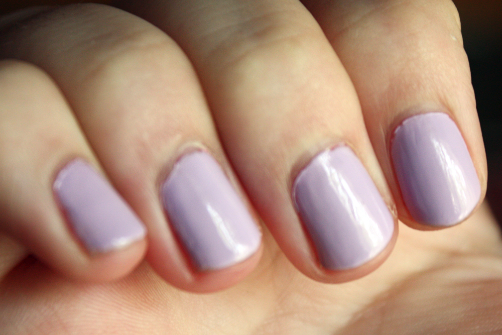Jesse\'s Girl/Julie G Nail Polish in Fairytale Swatch
