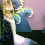 Limecrime's Booth had a MERMAID.