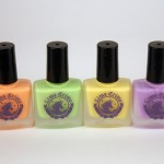 Lime Crime's new nail polishes... Peaches