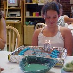 My 11th birthday, it was at Color Me Mine, so we painted some pottery.