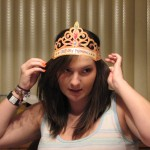 17th birthday. My parents gave me this crown because I'm clearly a princess!