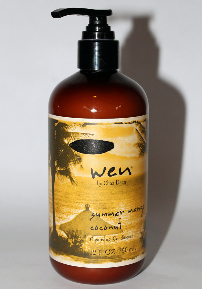 Wen Shampoo And Conditioner >> WEN by Chaz Dean Summer Mango Coconut Cleansing Conditioner Review