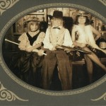 A western shot of my brother, sister, and I. I'm the hooker, obviously.