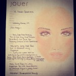 Jouer Cosmetics for J. Mendel (Face Chart)