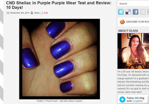 10 CND Shellac Purple Purple Review Wear Test