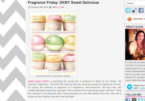 5 DKNY Sweet Delicious Fragrance Friday