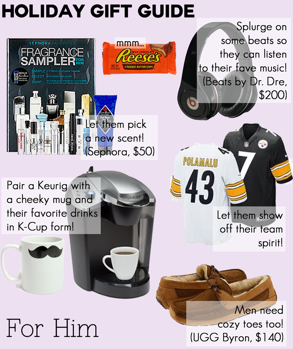 Holiday gift guide for him for Best christmas gifts for boyfriend 2012