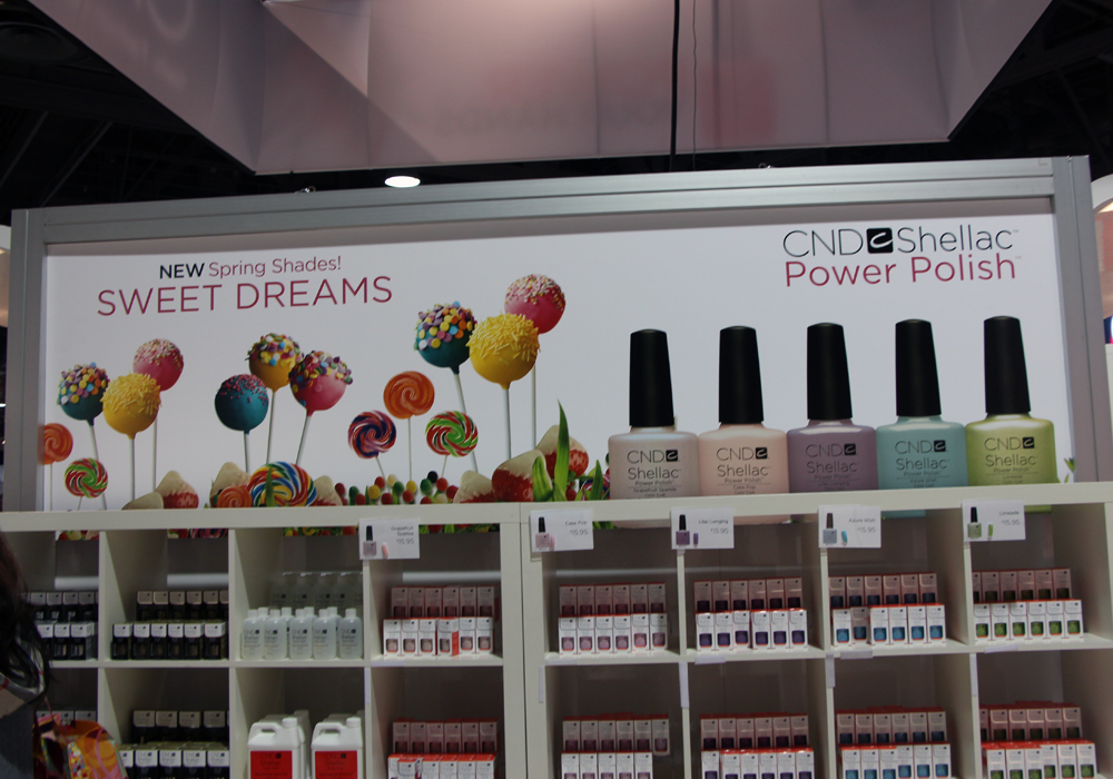 ISSE 2013 CND Spring Sweet Dreams Shellac Collection