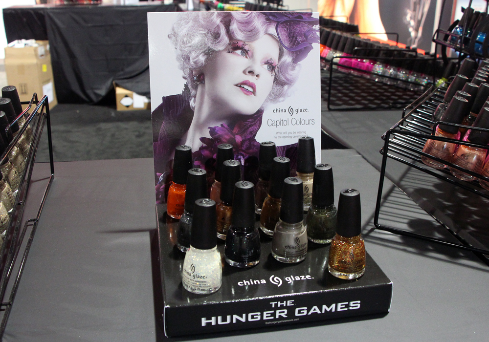 ISSE 2013 China Glaze Hunger Games Collection