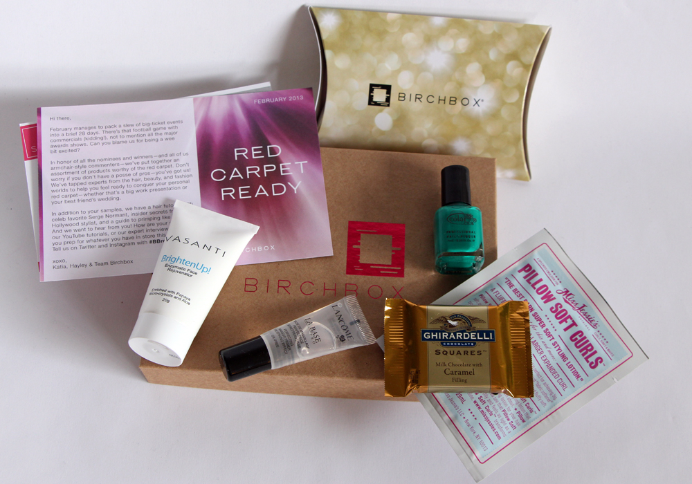 Birchbox February 2013 Review