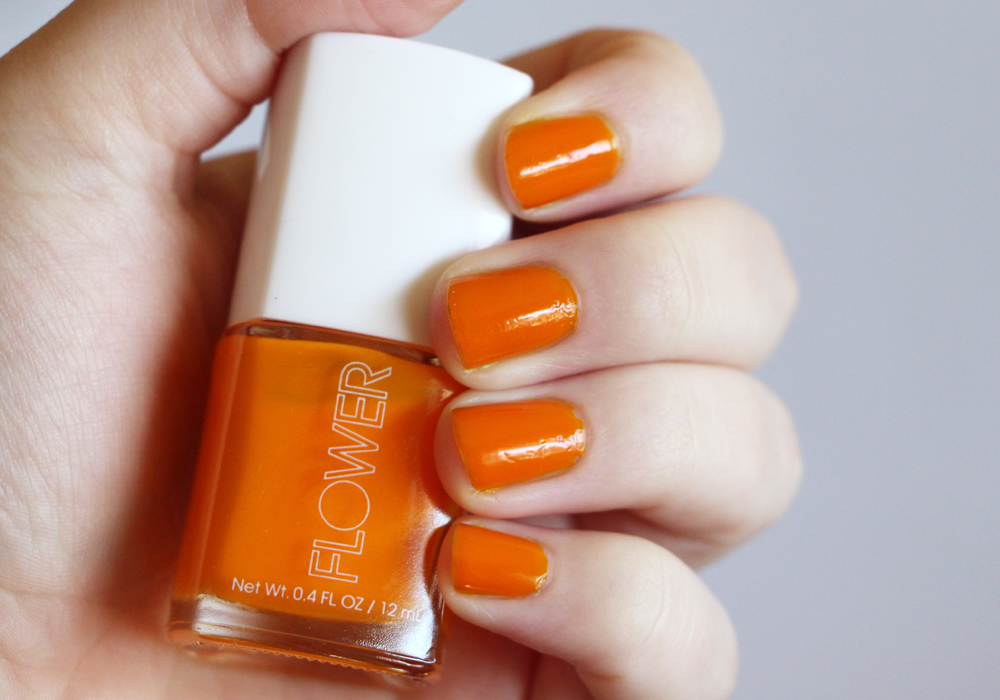 Flower Beauty Eye Of The Tiger Lily Nail'd It Nail Lacquer Swatch
