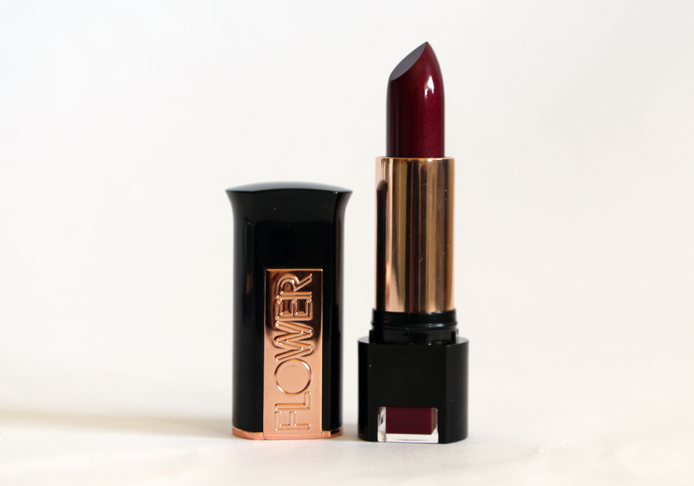 Flower Beauty Kiss Stick High Shine Lip Color Black Rose (2)