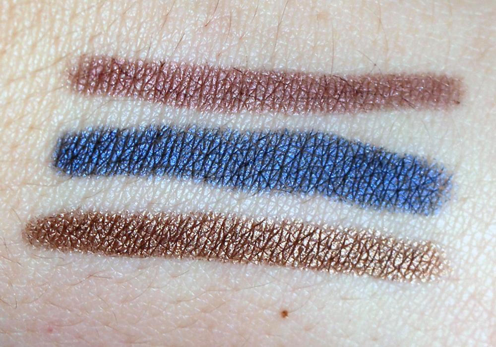 Jouer Creme Eyeshadow Crayon in Renaissance,Avant Garde, Baroque Swatches