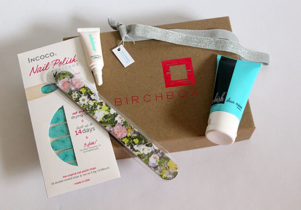 March Birchbox 2013