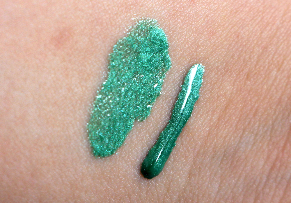 Obsessive Compulsive Cosmetics Power Plant Lip Tar Swatch (2)