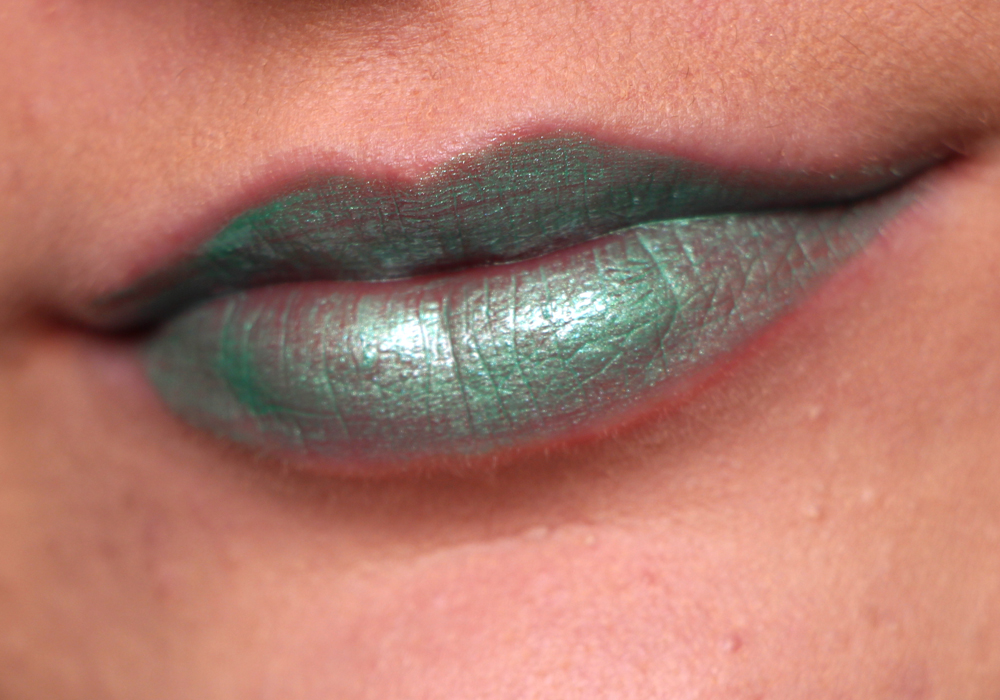 Obsessive Compulsive Cosmetics Power Plant Lip Tar Swatch