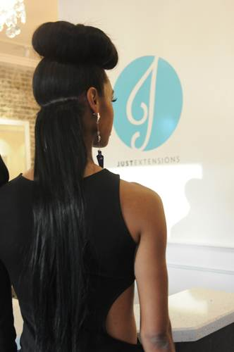 Just Extensions Sexy Hair Event Just Beautiful Model One Step Weft