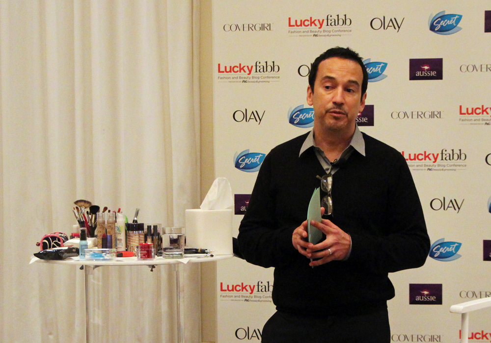 LuckyFABB Magazine Fashion Beauty Blogger Conference Beauty Tips From The Pros Session Bryce Grayson Procter and Gamble Beauty