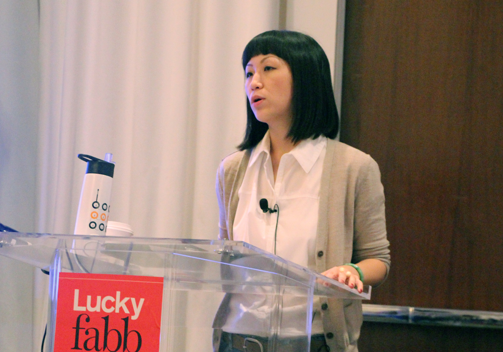 LuckyFABB Magazine Fashion Beauty Blogger Conference How To Pitch Session Andrea Chao GUESS