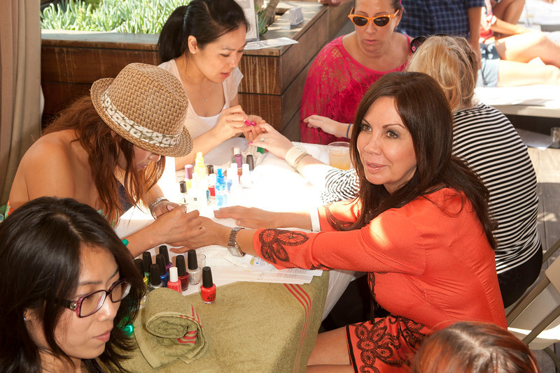 5th On The Go Mother's Day Beauty Event Nails by Q Salon by Michael Bezjian
