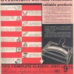 1934 Clairol Advertisement