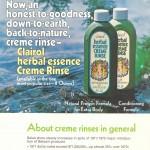 1973 Clairol (Herbal Essence) Advertisement