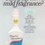 1973 Head & Shoulders Advertisement (scratch & sniff!)