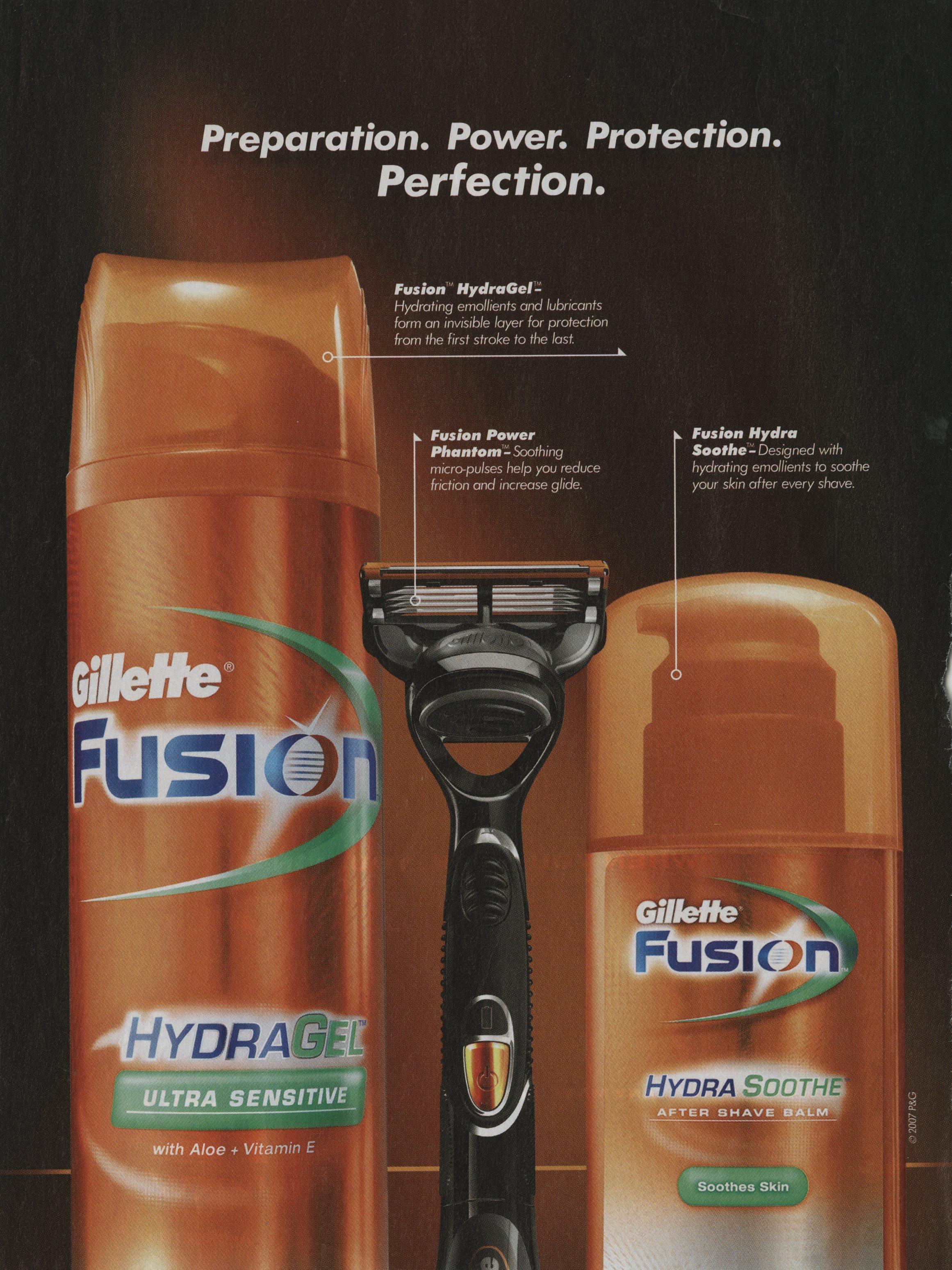 2007 Gillette Fusion print ad 300dpi723