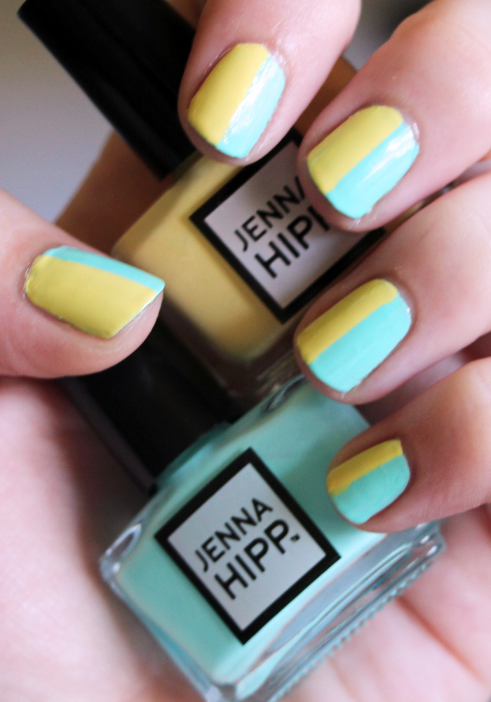 Jenna Hipp What's Hot Now Mini Nail Collection Costco Freshmaker Tweet Me Swatch Review (2)