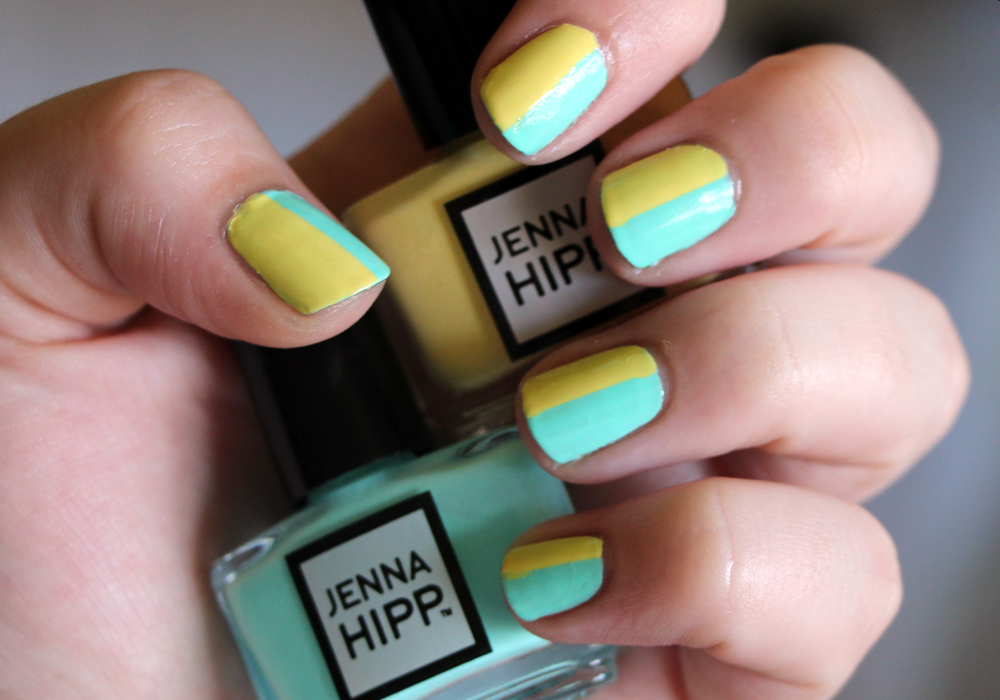 Jenna Hipp What's Hot Now Mini Nail Collection Costco Freshmaker Tweet Me Swatch Review