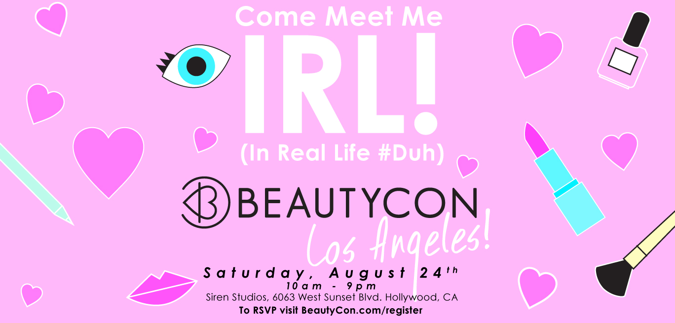 BeautyCon 2013 Invite