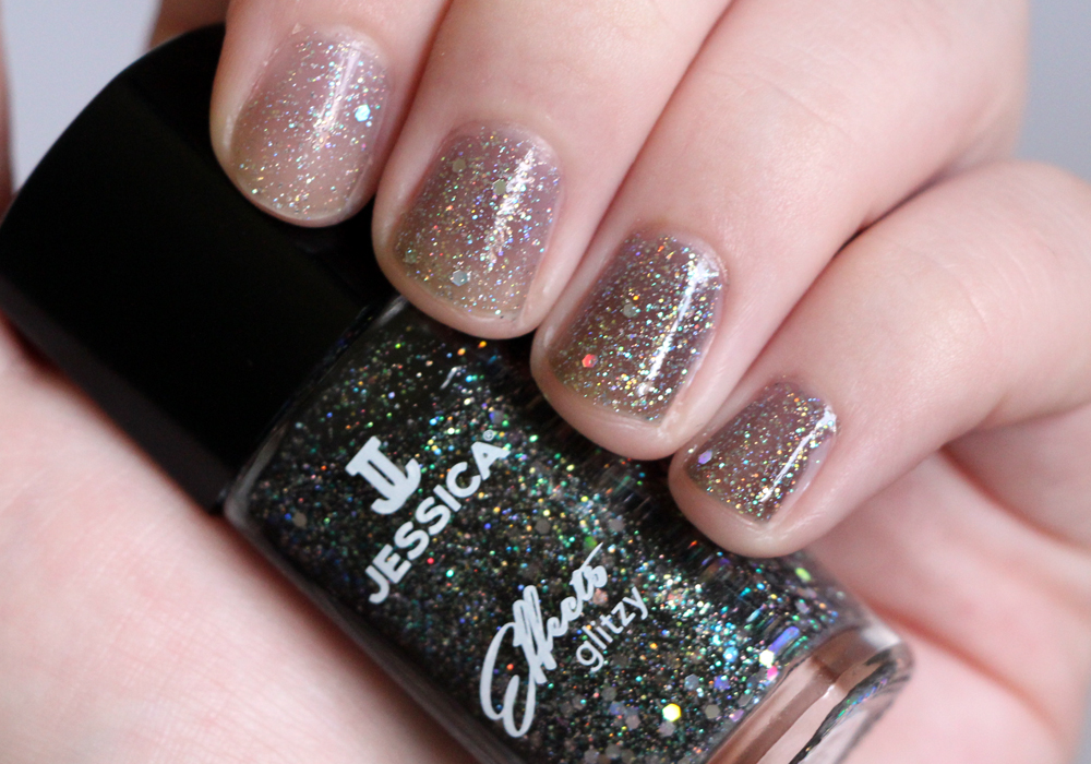 Jessica Cosmetics Glitzy Effects Collection Sparkles Swatch Review