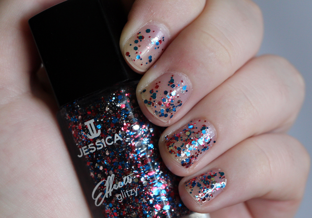 Jessica Cosmetics Glitzy Effects Collection Star Spangles Swatch Review