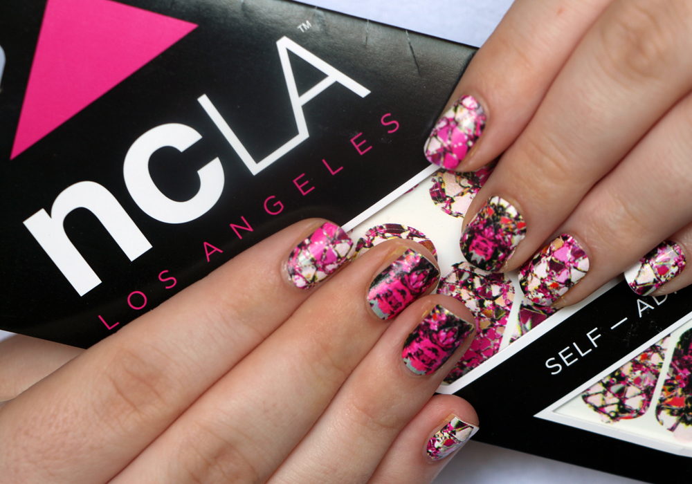 """NCLA """"Reflect Yourself"""" Designer Nail Wraps Review"""