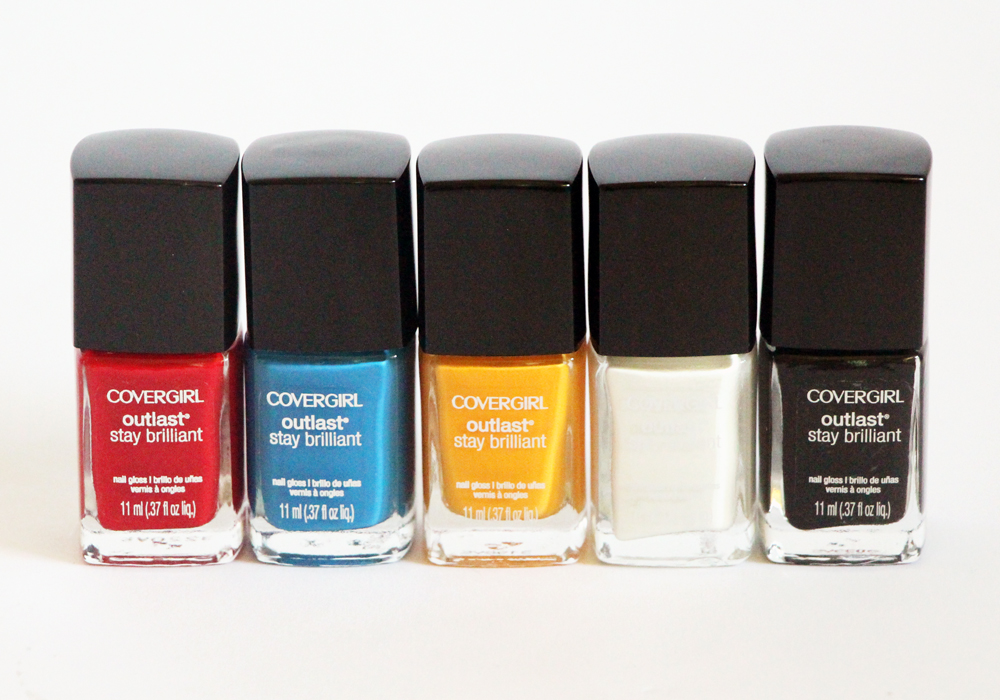 COVERGIRL & NFL Fanicures: Pittsburgh Steelers (Review & Swatches)