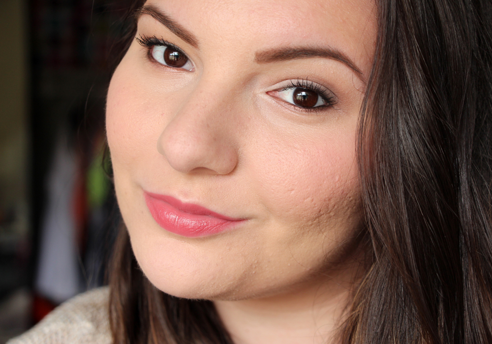 Too Faced Cosmetics La Creme Color Drenched Lip Cream Lipstick Cinnamon Kiss Review Swatch (2)