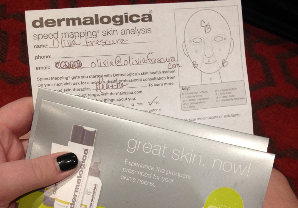 iFabbo Social Media Conference 2013 Dermalogica Skincare Skin Mapping
