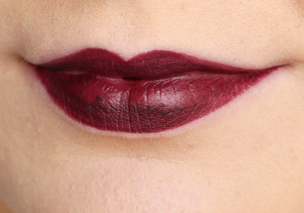 MAC Nightmoth Lip Pencil Review Swatch