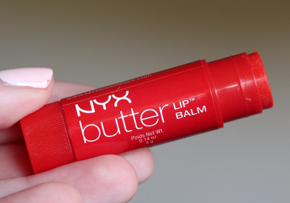 NYX Cosmetics Butter Lip Balm Red Velvet Review
