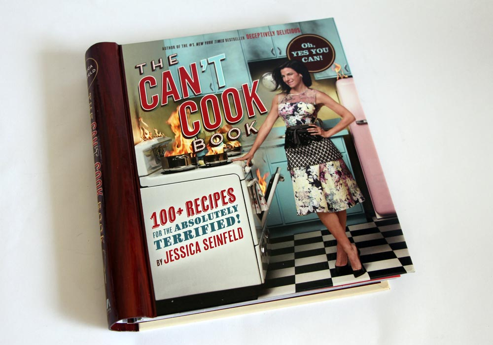 PopSugar Must Have Box October 2013 Review The Can't Cook Book by Jessica Seinfeld