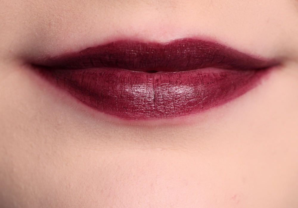 NYX Transylvania Soft Matte Lip Cream 2014 Swatch Review
