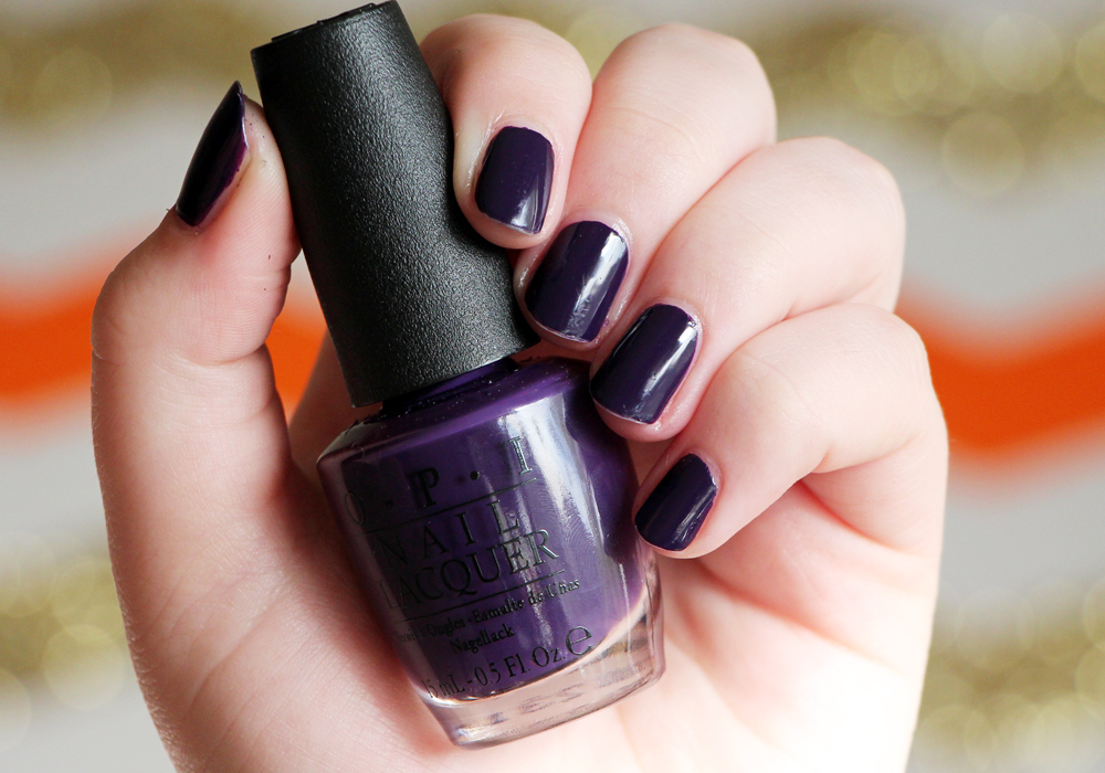 OPI Vant To Bite My Neck Nail Polish Swatch Review (2)