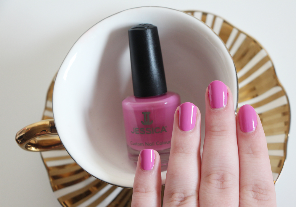 Jessica Cosmetics Coral Symphony Spring 2014 Nail Polish Collection Ocean Bloom Swatch Review