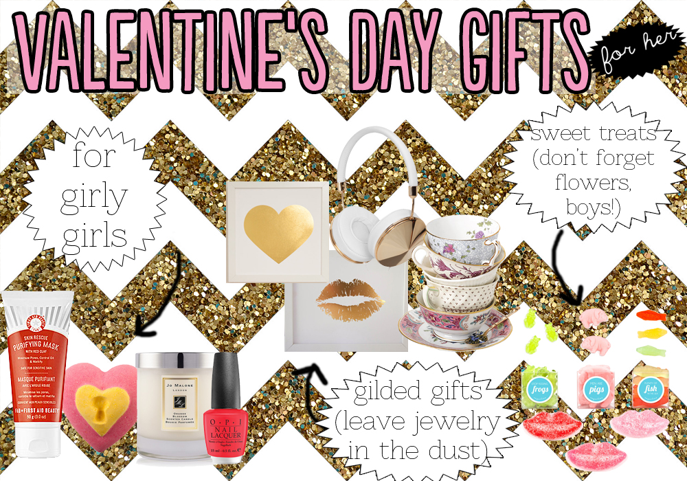 Valentine's Day Gifts For Her Beauty Lifestyle Candy Art Sugarfina LUSH Jo Malone OPI Frends Taylor Teacups Gold Foil Art