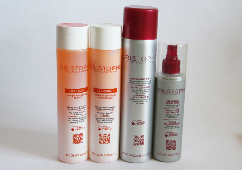 Cristophe hair care review glossing shampoo conditioner for Cristophe salon prices
