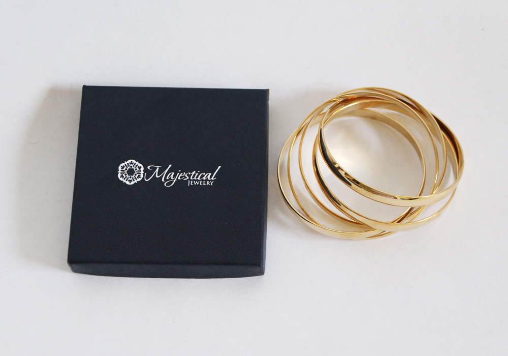 Majestical Jewelry Gold Fashion Bangles Review