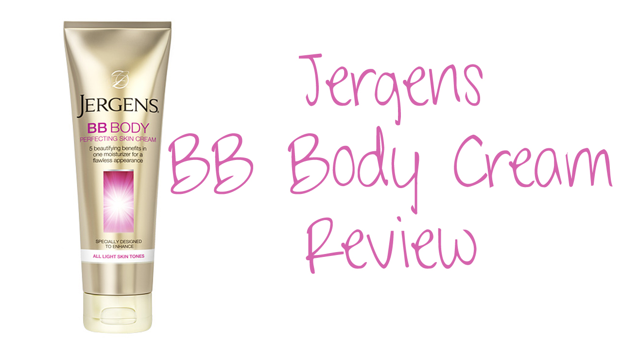 Jergens BB Body Perfecting Skin Cream All Light Skin Tones Review