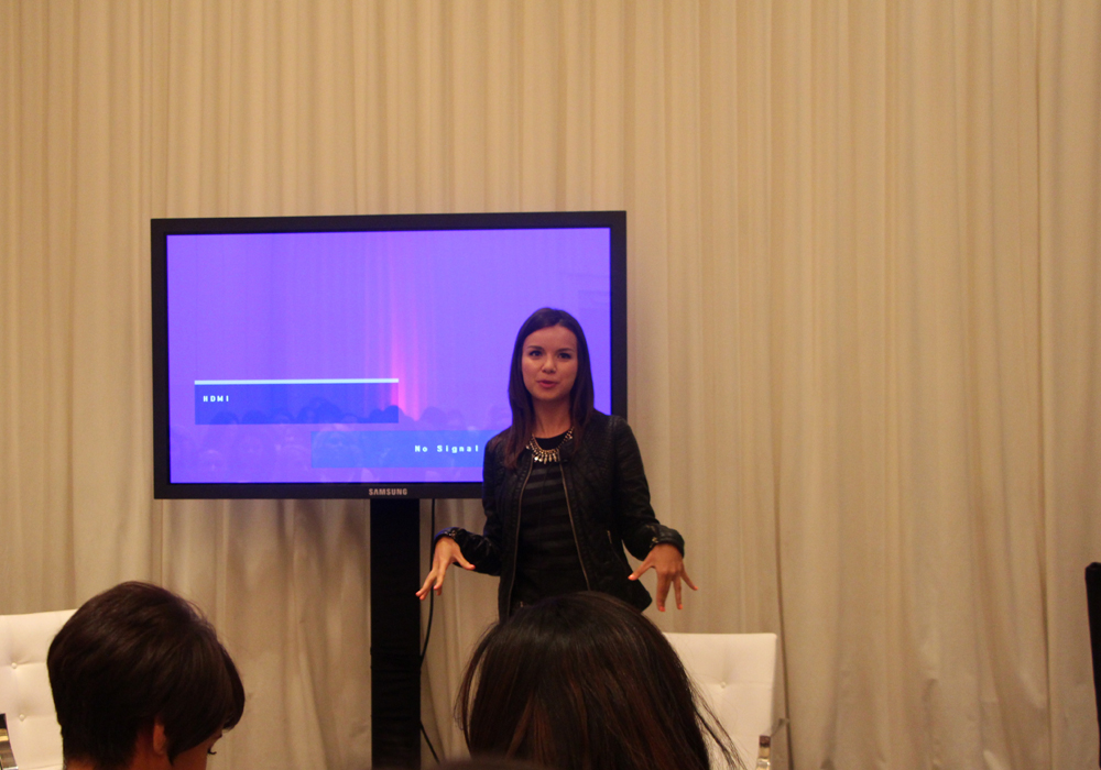 LuckyFABB Lucky Magazine Fashion Beauty Blogger Conference How To Take The Best Videos Ingrid Nilsen MissGlamorazzi YouTube