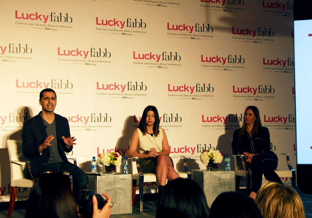 LuckyFABB Lucky Magazine Fashion Beauty Blogger Conference Next Level Tech Raman Kia Stephanie Mark The Coveteur Hilary Peterson Lyst